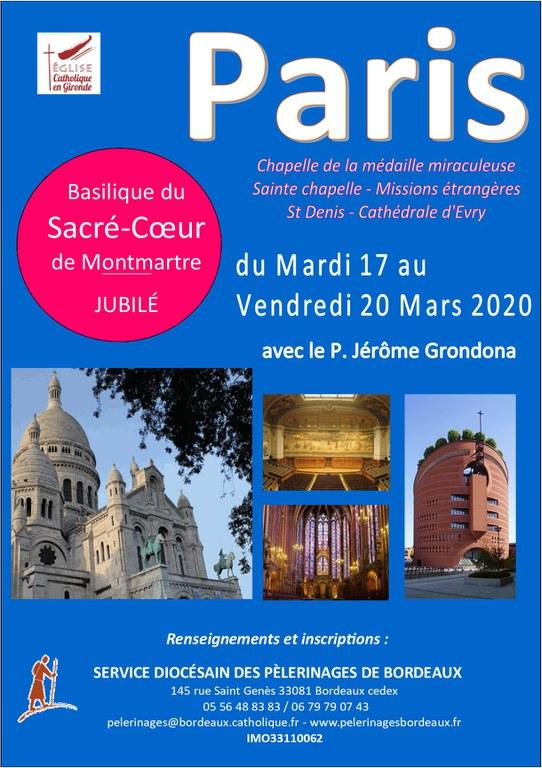 Affiche Paris 2020